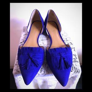 J CREW ROYAL BLUE SHOES